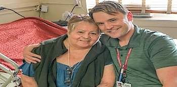 Aurea L and Billy Boyce, RN.